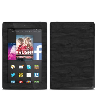 Amazon Kindle Fire HD 7in 2014 Skin - Black Woodgrain