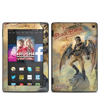 Amazon Kindle Fire HD 7in 2014 Skin - The Black Baron