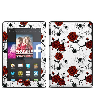 Amazon Kindle Fire HD 7in 2014 Skin - Black Widows