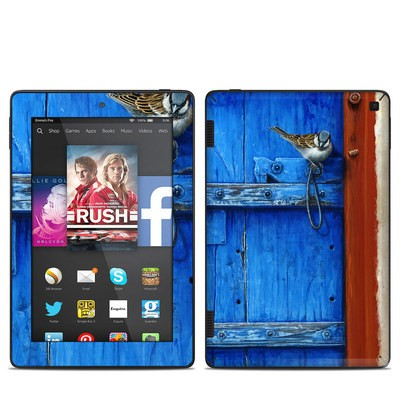 Amazon Kindle Fire HD 7in 2014 Skin - Blue Door