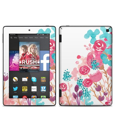 Amazon Kindle Fire HD 7in 2014 Skin - Blush Blossoms