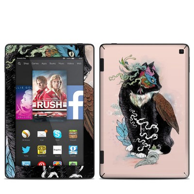 Amazon Kindle Fire HD 7in 2014 Skin - Black Magic