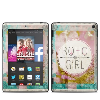 Amazon Kindle Fire HD 7in 2014 Skin - Boho Girl