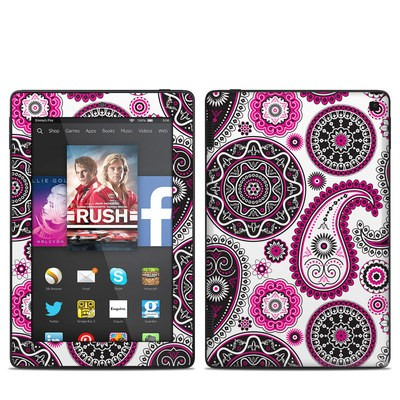 Amazon Kindle Fire HD 7in 2014 Skin - Boho Girl Paisley