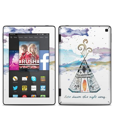 Amazon Kindle Fire HD 7in 2014 Skin - Boho Teepee