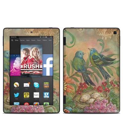 Amazon Kindle Fire HD 7in 2014 Skin - Splendid Botanical