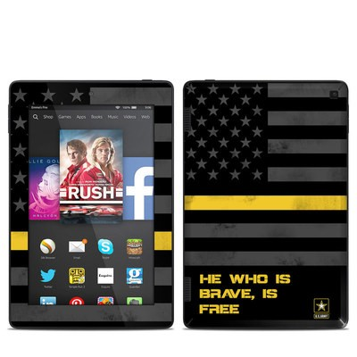 Amazon Kindle Fire HD 7in 2014 Skin - Brave is Free