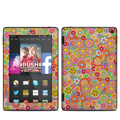 Amazon Kindle Fire HD 7in 2014 Skin - Bright Ditzy