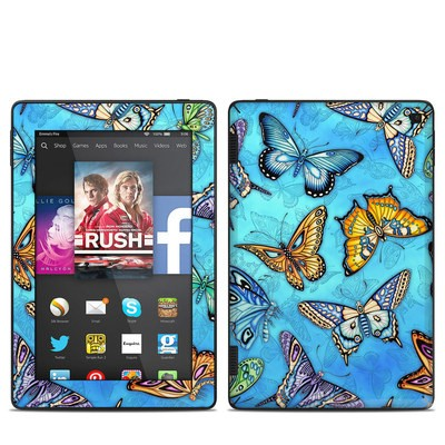 Amazon Kindle Fire HD 7in 2014 Skin - Butterflies