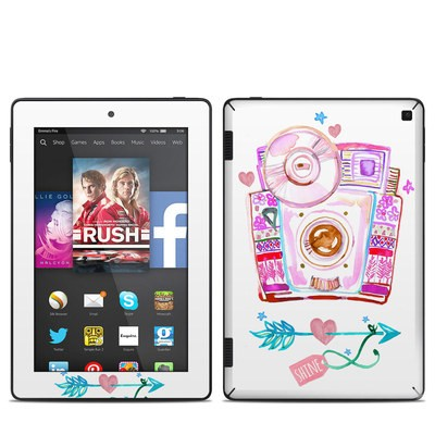 Amazon Kindle Fire HD 7in 2014 Skin - Camera Shine