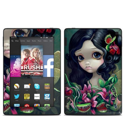 Amazon Kindle Fire HD 7in 2014 Skin - Carnivorous Bouquet