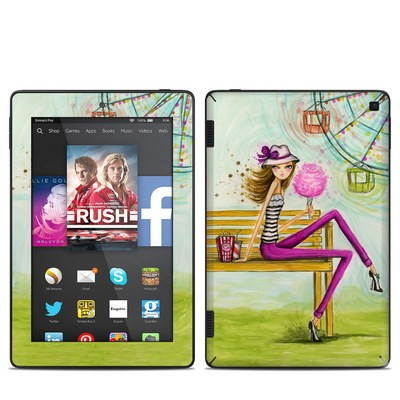 Amazon Kindle Fire HD 7in 2014 Skin - Carnival Cotton Candy