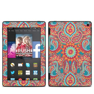 Amazon Kindle Fire HD 7in 2014 Skin - Carnival Paisley