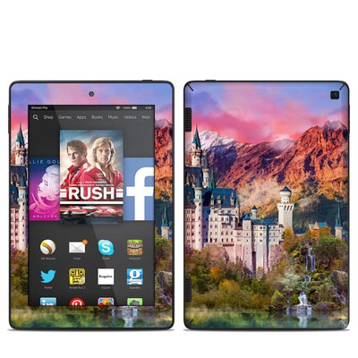 Amazon Kindle Fire HD 7in 2014 Skin - Castle Majesty
