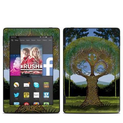 Amazon Kindle Fire HD 7in 2014 Skin - Celtic Tree