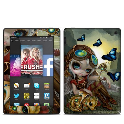 Amazon Kindle Fire HD 7in 2014 Skin - Clockwork Dragonling