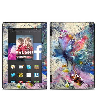Amazon Kindle Fire HD 7in 2014 Skin - Cosmic Flower