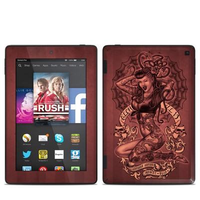 Amazon Kindle Fire HD 7in 2014 Skin - If Looks Could Kill