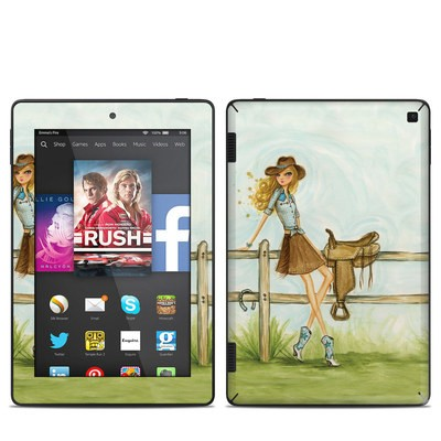 Amazon Kindle Fire HD 7in 2014 Skin - Cowgirl Glam