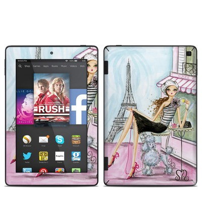 Amazon Kindle Fire HD 7in 2014 Skin - Cafe Paris