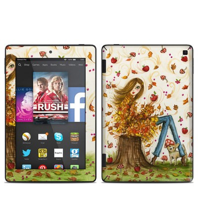 Amazon Kindle Fire HD 7in 2014 Skin - Crisp Autumn