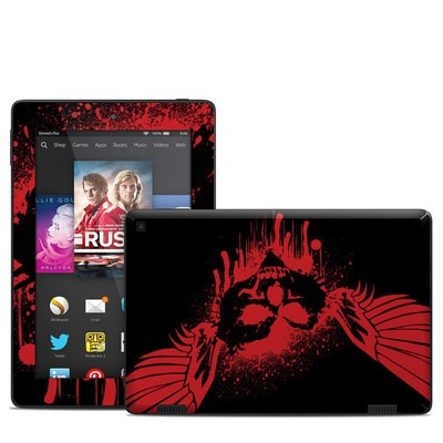 Amazon Kindle Fire HD 7in 2014 Skin - Dark Heart Stains