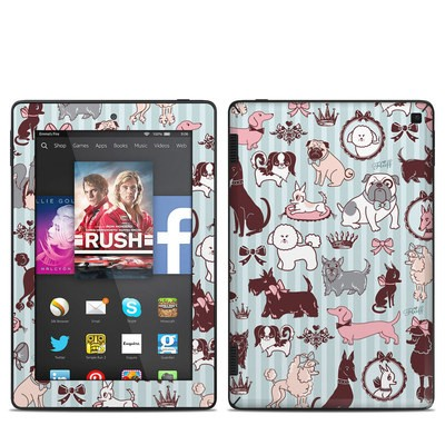 Amazon Kindle Fire HD 7in 2014 Skin - Doggy Boudoir
