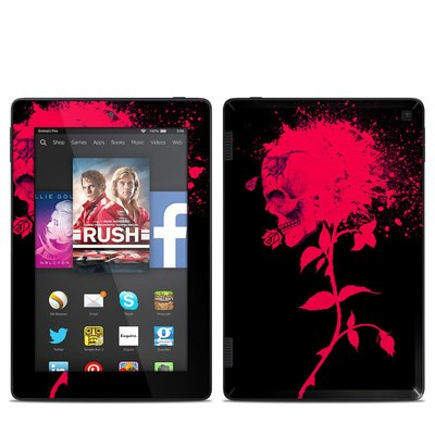 Amazon Kindle Fire HD 7in 2014 Skin - Dead Rose