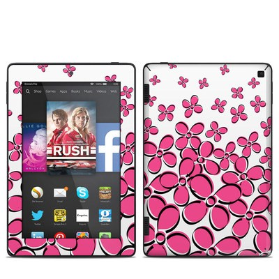Amazon Kindle Fire HD 7in 2014 Skin - Daisy Field - Pink
