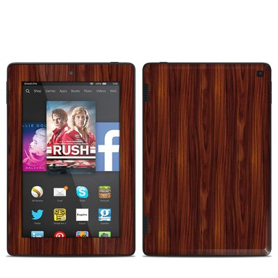 Amazon Kindle Fire HD 7in 2014 Skin - Dark Rosewood