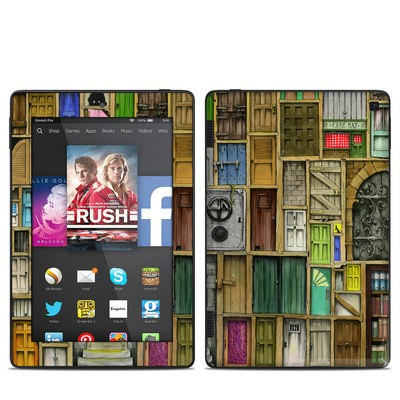 Amazon Kindle Fire HD 7in 2014 Skin - Doors Closed