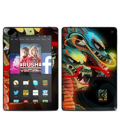 Amazon Kindle Fire HD 7in 2014 Skin - Dragons