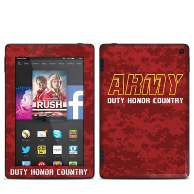 Amazon Kindle Fire HD 7in 2014 Skin - Duty and Honor