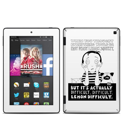 Amazon Kindle Fire HD 7in 2014 Skin - Easy Peasy