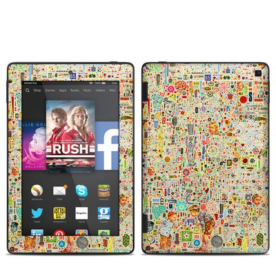 Amazon Kindle Fire HD 7in 2014 Skin - Effloresce