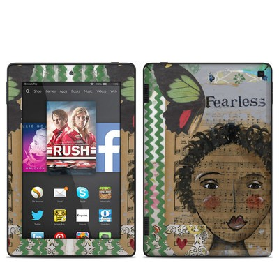 Amazon Kindle Fire HD 7in 2014 Skin - Fearless Heart
