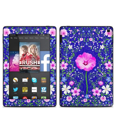 Amazon Kindle Fire HD 7in 2014 Skin - Floral Harmony