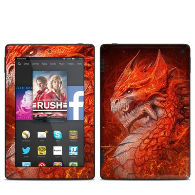 Amazon Kindle Fire HD 7in 2014 Skin - Flame Dragon