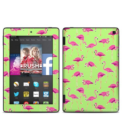 Amazon Kindle Fire HD 7in 2014 Skin - Flamingo Day