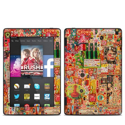 Amazon Kindle Fire HD 7in 2014 Skin - Flotsam And Jetsam