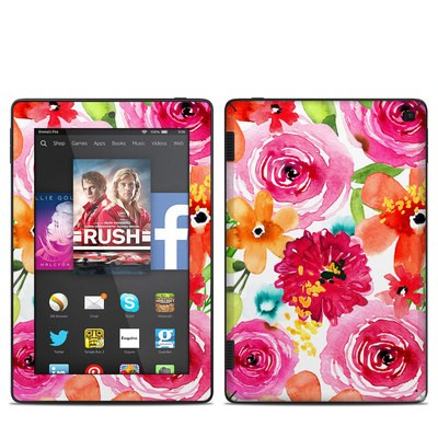 Amazon Kindle Fire HD 7in 2014 Skin - Floral Pop