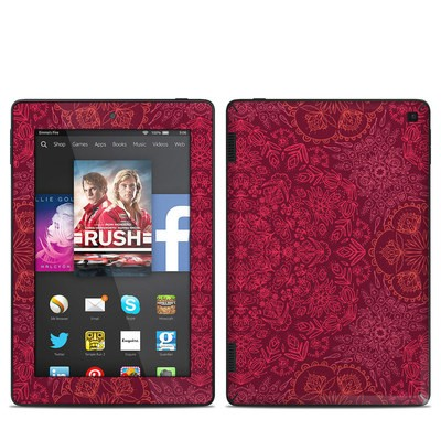 Amazon Kindle Fire HD 7in 2014 Skin - Floral Vortex