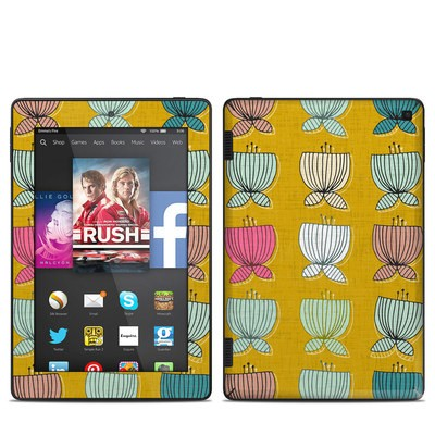 Amazon Kindle Fire HD 7in 2014 Skin - Flower Cups