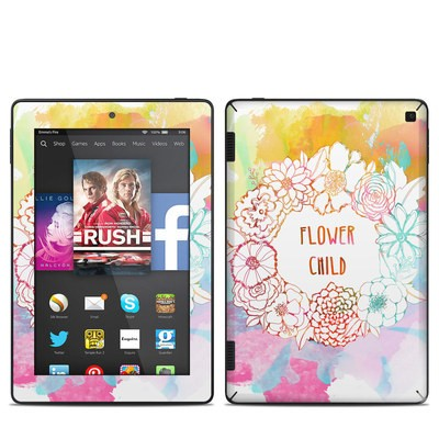 Amazon Kindle Fire HD 7in 2014 Skin - Flower Child