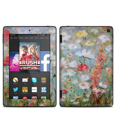 Amazon Kindle Fire HD 7in 2014 Skin - Flower Blooms