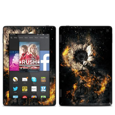 Amazon Kindle Fire HD 7in 2014 Skin - Flower Fury