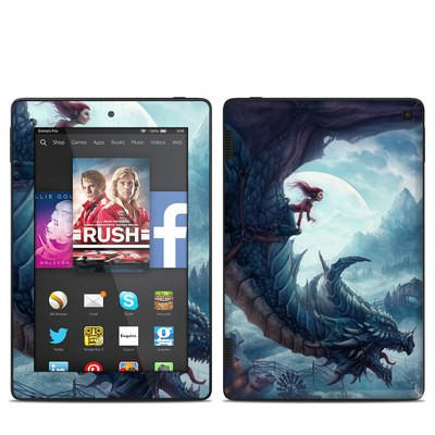 Amazon Kindle Fire HD 7in 2014 Skin - Flying Dragon