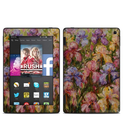 Amazon Kindle Fire HD 7in 2014 Skin - Field Of Irises