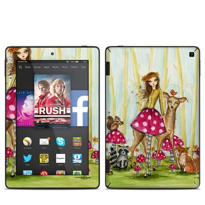 Amazon Kindle Fire HD 7in 2014 Skin - Forest Friends