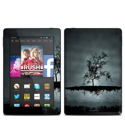 Amazon Kindle Fire HD 7in 2014 Skin - Flying Tree Black